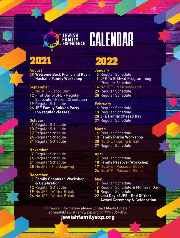 JFE calendar 2021-22